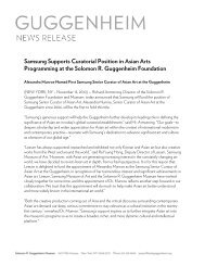 Samsung Supports Curatorial Position in Asian Arts Programming at ...