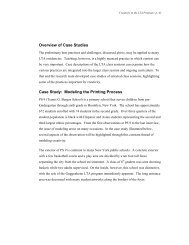 Overview of Case Studies Case Study: Modeling the Printing Process