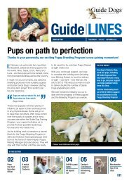 Download Guidelines Autumn 2012 in PDF - Guide Dogs NSW/ACT