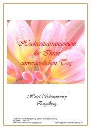 Hochzeitsarrangement für Ihren unvergesslichen Tag - guidle