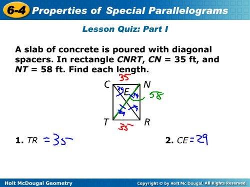6 4 Properties Of Special