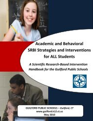 Academic and Behavioral SRBI Strategies and Interventions for ALL ...