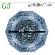 JAHRESBERICHT 2009 NEUE FORMEN - Gruner + Jahr
