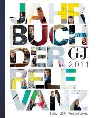 Edition 2011: Persönlichkeit - Gruner + Jahr