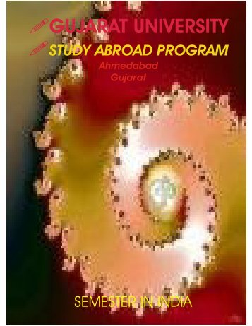 study abroad program - Gujarat University