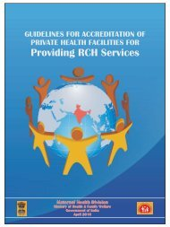 Guidelines for Accreditation of Privagte Health ... - NRHM Tripura