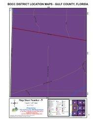 BOCC DISTRICT LOCATION MAPS - GULF COUNTY, FLORIDA 9