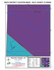 BOCC DISTRICT LOCATION MAPS - GULF COUNTY, FLORIDA 12