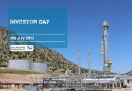 Investor Day Presentation - Gulf Keystone