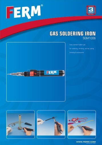 GAS SOLDERING IRON - Tracon