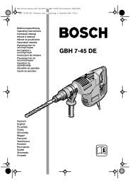GBH 7-45 DE OEU - Buch - Tools.by
