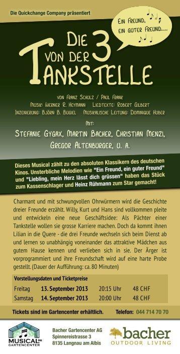 Weitere Informationen finden Sie in diesem PDF - Bacher Garten ...