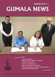 Gumala News - Summer 2010-11 Members Edition