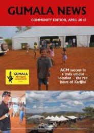 Gumala News - April 2012 - Community Edition
