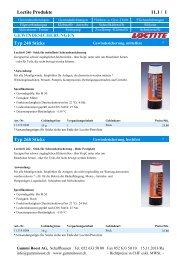Loctite Produkte 11.1 / 1 ... - Gummi Roost AG