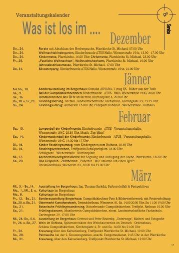 Winterblatt 2009 Teil 2 (3,26 MB) - Gumpoldskirchen