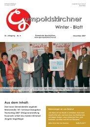 Winterblatt 2007 Teil 1 - Gumpoldskirchen