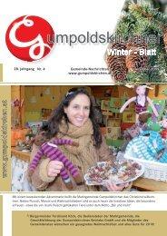 Winterblatt 2009 Teil 1 (2,60 MB) - Gumpoldskirchen