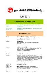 Juni 2010 - Gumpoldskirchen
