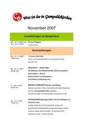 November 2007 - Gumpoldskirchen