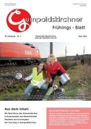 Frühjahrsblatt 2009 Teil 1 (4,79 MB) - Gumpoldskirchen