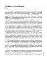 Akut Dissemine Ansefalomiyelit