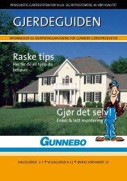 raske tips - Gunnebo