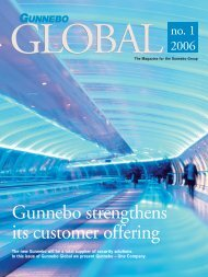 Gunnebo strengthens its customer offering