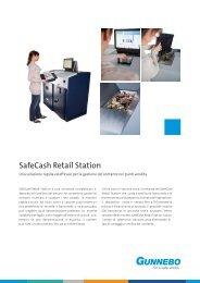 SafeCash Retail Station - Gunnebo