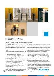SpeedStile FP/FPW - Gunnebo