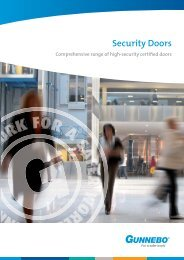 Security Doors Catalogue - Gunnebo