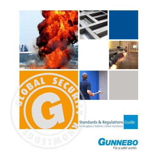 Standards & Regulations Guide - Gunnebo