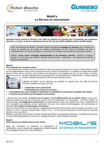 Mobili's Le Service en mouvement - Gunnebo