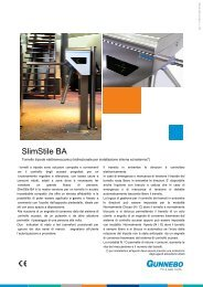 SlimStile BA - Gunnebo