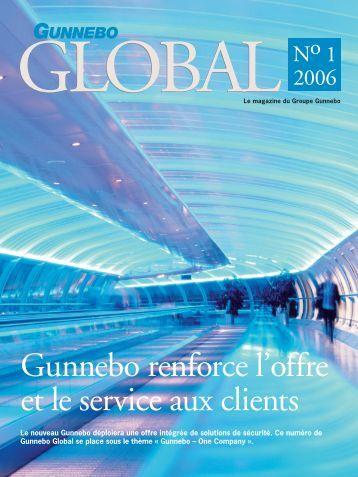 Gunnebo renforce l'offre et le service aux clients