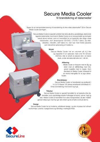 Secure Media Cooler - Gunnebo