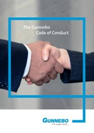 The Gunnebo Code of Conduct