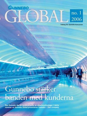 Gunnebo stärker banden med kunderna