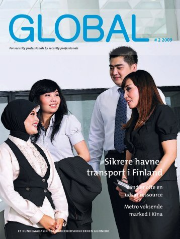 Sikrere havne transport i Finland - Gunnebo
