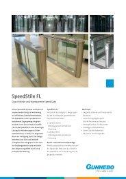 GSP090702 SpeedStile FL.indd - Gunnebo