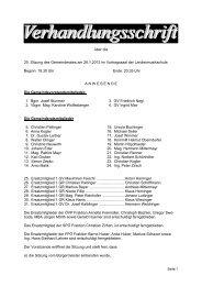 Gemeinderatssitzung vom 26. Jänner 2012 (228 KB ... - Gunskirchen