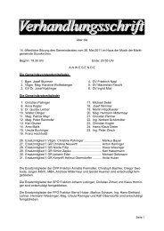 Gemeinderatssitzung vom 25. Mai 2011 (1,31 MB ... - Gunskirchen