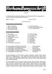Gemeinderatssitzung vom 25. September 2008 (457 ... - Gunskirchen