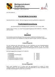 Friedhofgebührenordnung - .PDF - Gunskirchen