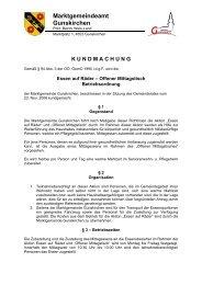 Essen auf Räder - Betriebsordnung - .PDF - Gunskirchen