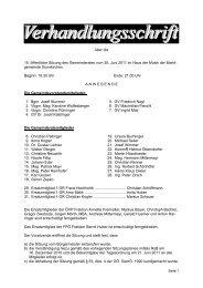 Gemeinderatssitzung vom 30. Juni 2011 (401 KB ... - Gunskirchen