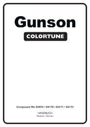 FAULT CODE READER OBD11 COLORTUNE GASTESTER - Gunson