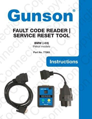 bmw reset tool instructions