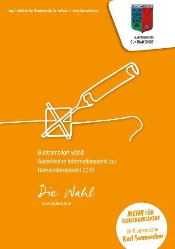 Info zur GR-Wahl als PDF - Guntramsdorf