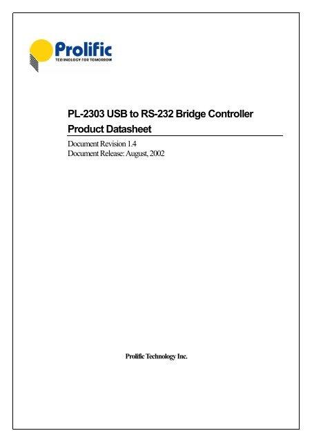 Pl2303hx usb to ttl converter module datasheet